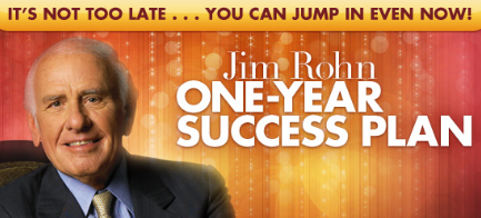 Jim Rohn 12 Month Plan